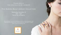 Aurora Bailey Jewelry event