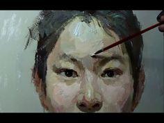Gouache Portrait Painting Techniques #2