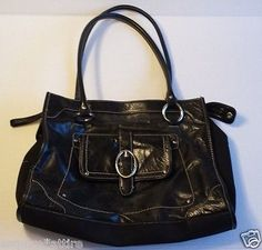 #women handbag bag purse on sale Franco Sarto black women bag withing our EBAY store at  http://stores.ebay.com/esquirestore