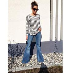 Flared jeans - Sanna Fischer - Metro Mode 1ff1b86b6d547