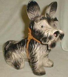 Terrier Dog Planter