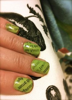 Newspaper nails how-to