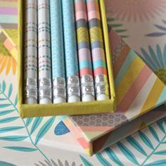 coffret 6 crayons Mini Labo - deco-graphic.com