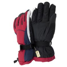 Amazon.com: Mens Thinsulate Heavy Skiing/Snowboarding/Outdoor Sports Thermal Gloves with Palm Grip (3M 40g) (One Size) (Red): Clothing