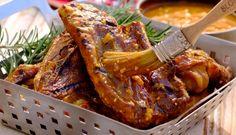 Lamb Braai Chops in Curry Marinade