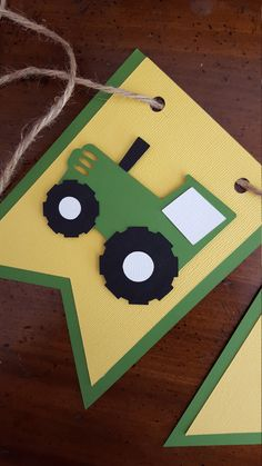 Tractor birthday banner * ONE banner * green and yellow banner * John Deere birthday party * high chair banner * tractor party * age banner by declanandsmith on Etsy https://www.etsy.com/listing/478803575/tractor-birthday-banner-one-banner-green More