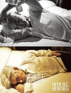 2015.01, L'Officiel Hommes, Big Bang, T.O.P, Choi Seunghyun
