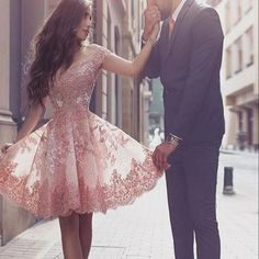 2016 Lace off shoulder floral prints elegant junior formal homecoming prom gown dress The lace junior off shoulder homecoming dresses are fully lined, 8bones in the bodice, chest pad in the bust, lace up back or zipper back are all available, total 126 colors are available  This dress could be custom made, there are no extra cost to do custom size and color.  Description  1, Material:lace, appliques, elastic silk like stain.  2, Color: picture color or other colors, there are 126 colors are…