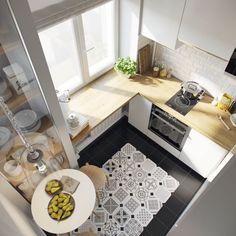 Cum sa te descurci cu amenajarea unui apartament de 28 mp- Inspiratie in amenajarea casei - www.povesteacasei.ro