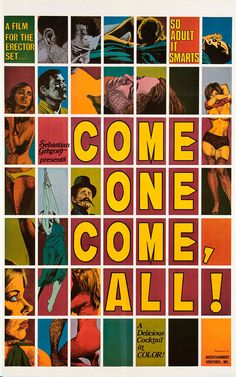 X-rated-adult-movie-posters-of-the-60s-and-70s-tony-nourmand-and-graham-marsh-publication-itsnicethat-come-one-come-all-1-sht