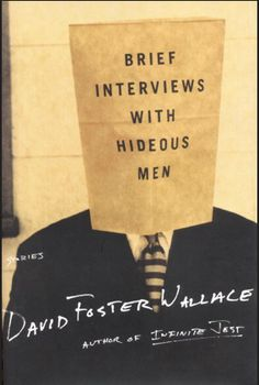 This book cover design metaphorically expresses its title by including a 'man' to show that the book is about men. However, the visual metaphor of this design is that the head of the man is covered with a paper bag. This exemplifies that the men described in this book do appear hideous, therefore this point is further emphasised by not showing the face of this particular man. Furthermore, the words 'hideous men', is placed on the paper bag, which implies the author's main point.