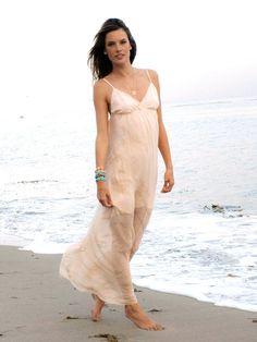 Hayley Silk Maxi Dress As Seen On Alessandra Ambrosio