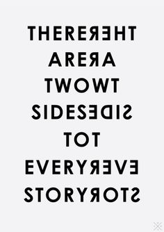 Two Sides #typeplay
