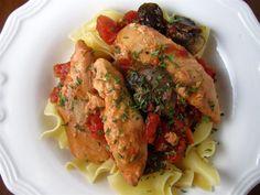 Crockpot Rustic Chicken by stephaniecooks #Chicken #Crockpot #stephaniecooks