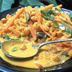 Kichererbsen-Möhren-Curry