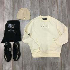 Dope Outfits For Guys, Swag Outfits Men, Stylish Mens Outfits, Style Outfits, Yeezy Outfit, Polo Outfit, Outfit Grid, Hype Clothing, Mens Clothing Styles