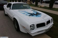 Pontiac Firebird Trans Am. As seen at the September 2014 Cars and Coffee show in Austin TX USA.