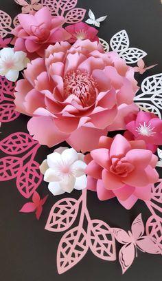 Flores de papel para vivero flores de papel de vivero vivero