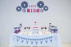 Bike Themed Birthday Party
