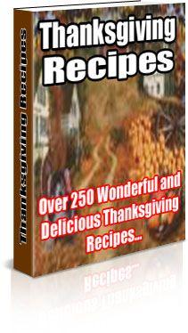 Thanksgiving Recipes (PLR)