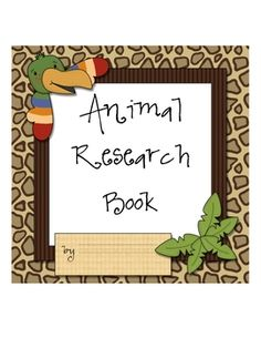 This packet is a designed to help you guide your students through an animal research project.  It includes pages for an animal research report to h...