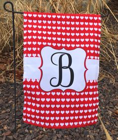 Burlap Christmas Tree, Rustic Christmas, Valentine Heart, Valentines, Home And Garden Store, Flag Stand, Spring Garden, Garden Flags, Initials