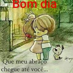 Bom dia com muito abraço! Portuguese Quotes, Spanish Greetings, 2 Baby, Emoticon, Good Morning, True Love, Thoughts, Words, Instagram Posts