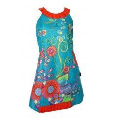 robe tunique turquoise couleurs du monde - Tunique Colore Femme