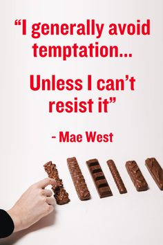Will you give in to temptation like Mae West? #DECHOX