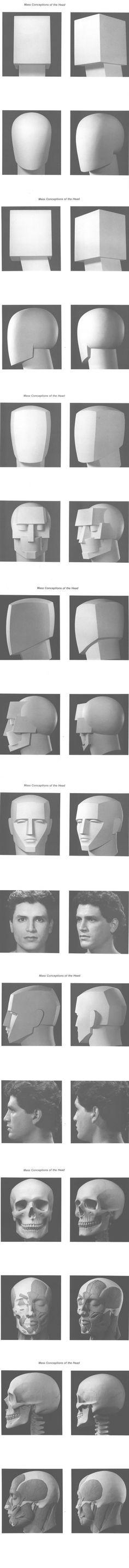 [转载]人体素描写生上的难点分析【关于头...