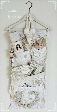 4 Convenient Cool Tips: Shabby Chic Bedroom Gold shabby chic rustic mason jars.Shabby Chic Kitchen Country shabby chic ideas the doors. Casas Shabby Chic, Shabby Chic Mode, Style Shabby Chic, Chabby Chic, Shabby Chic Crafts, Shabby Chic Decor, Shabby Vintage, Vintage Crafts, Vintage Lace
