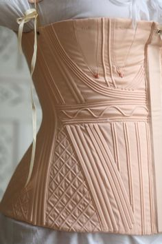 Historical Costume, Historical Clothing, Vintage Corset, Dress Vintage, 1800s Fashion, Corset Pattern, Lingerie, Clothing Patterns, Clothing Ideas