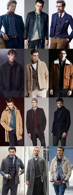 Men's Winter Outfit that Stay Warm and Look Cool: Creative Layering Outfit Inspiration Lookbook
