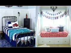 Cutest shared boy/girl bedroom ever!  #bedroomdecor #beddysbed #zipupyourbed #girlsroomdecor #boysroomdecor