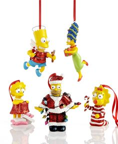 Department 56 Christmas Ornaments, Simpsons Collection - Holiday Lane - Macy's