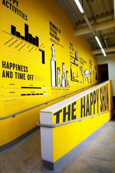The Happy Show by Jessica Walsh, via Behance #information #graphic #chart #environmental