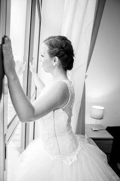 wedding inspiration / beautiful bride / black & white