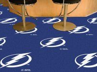 Tampa Bay Lightning Team Carpet Tiles. $179.99 Only.