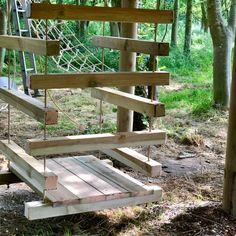Outdoor Fun, Outdoor Spaces, Outdoor Decor, Outdoor Stuff, Outdoor Ideas, Backyard Playground, Playground Ideas, Backyard Ideas, House Ladder