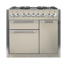 The Mercury 1000 range cooker delivers the perfect fusion of uncompromising quality and Intuitive design with meticulous attention to detail. The cutting edge styling combined with the Oyster paint finish produce a clean and sophisticated look to suit any kitchen.