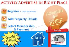 Actively advertise to sell | Rent in right Place @$#%