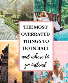 Let's face it: the secret is out on Bali. This idyllic island has quickly risen to the top of everybody's bucket list of the best places to travel to in the world, and for good reason! If you're planning a trip to Bali, you know […] Bali Travel Guide, Top Travel Destinations, Best Places To Travel, Asia Travel, Travel To Bali, Croatia Travel, Vacation Places, Nightlife Travel, Hawaii Travel