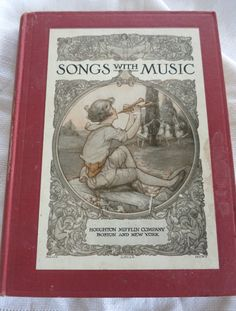 Vintage Childs Music Book Lucy Wheelock by mybonvivant on Etsy
