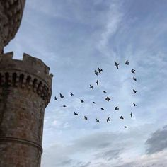 Who said don't feel the Beautiful Things, Greece, The Past, Castle, Birds, Culture, Sky, Heart, Summer