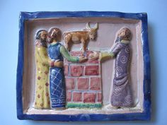 VIETRI ceramica ICS AMALFI periode Dolker Guido Gambone ceramica Salernitana | eBay