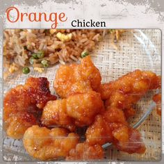 1 bag popcorn chicken (does not need to be thawed) - great value brand at walmart are the best! 1 teaspoon balsamic vinegar  3 tablespoons ketchup 6oz orange juice concentrate (half of the frozen juice container - thawed a bit so it'll coat chicken) 4 tablespoons brown sugar pinch of salt  Combine vinegar, ketchup, orange juice, sugar and salt.  Add chicken and stir to coat.  Line a baking sheet with foil and spread chicken out.  Follow baking directions on back of chicken package.