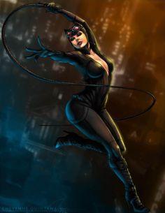 Catwoman- Arkham City    Fan Art by Shaiyan