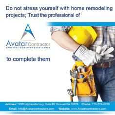 Water damage can really wreak havoc on your home. The floors, the walls, appliances, the fixtures of the room, all ruined in the blink of an eye. Sure the insurance company is going to help, but it's up to you to do all the leg work. No time to stress, call the professionals off Avatar Contractors. We'll help you remodel the damaged space in no time.  I'm Sofia Salazar, give me a call | Avatar Contractor | 678-210-7744