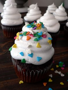 Light and fluffy. No butter, no powdered sugar, dairy free.... and the best frosting you will every make! Pipes so easy, it's great for deco...