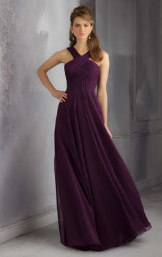 I would like an eggplant toned gown Popular Long Bridesmaids Dresses   Aliexpress